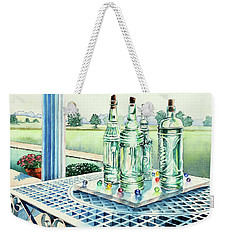 Marbles On Marble Weekender Tote Bag