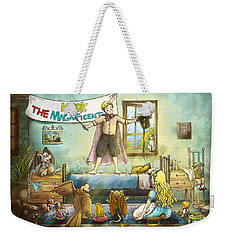 Mark The Magnificent Weekender Tote Bag