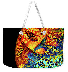 Mask Weekender Tote Bag by Charuhas Images
