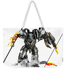 Megatron Transformers Collection Weekender Tote Bag by Marvin Blaine