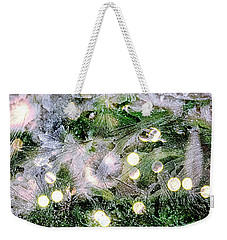 Merry Christmas Background Weekender Tote Bag