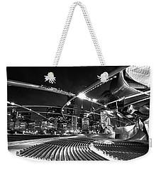 Millennium Park Weekender Tote Bag by Sebastian Musial