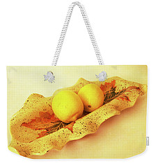 Mini Long Bowl Weekender Tote Bag
