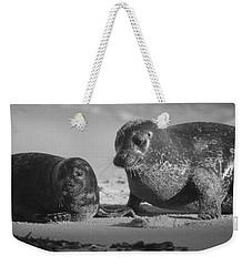 Mom And Pup  Weekender Tote Bag