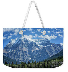 Mount Robson Weekender Tote Bag by Patricia Hofmeester