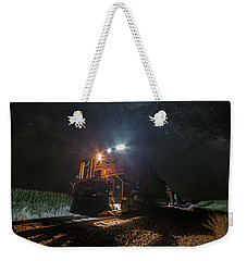 Night Train  Weekender Tote Bag by Aaron J Groen