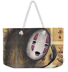 No Face Weekender Tote Bag by Abril Andrade Griffith