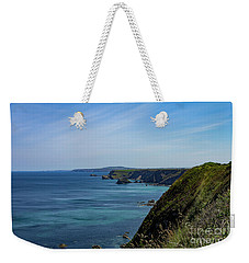 Weekender Tote Bag featuring the photograph North Coast Cornwall by Brian Roscorla