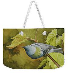 Northern Parula Weekender Tote Bag