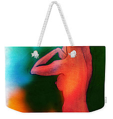 Nude Woman Weekender Tote Bag by Svelby Art