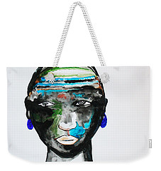 Nuer Bride - South Sudan Weekender Tote Bag