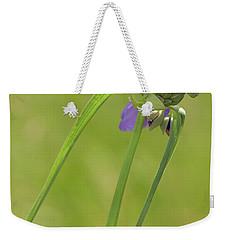 Ohio Spiderwort Weekender Tote Bag