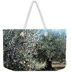 Olive Trees Weekender Tote Bag by Judy Kirouac