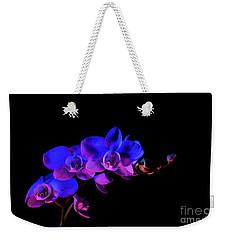 Weekender Tote Bag featuring the photograph Orchid by Brian Jones