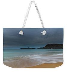 Overcast Cloudy Sunrise Seascape Weekender Tote Bag
