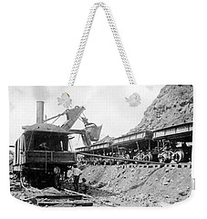 Panama Canal - Construction - C 1910 Weekender Tote Bag by International  Images