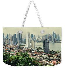 Panama City Weekender Tote Bag by Iris Greenwell