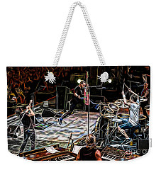 Pearl Jam Collection Weekender Tote Bag by Marvin Blaine