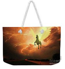 Pegasus By Mary Bassett Weekender Tote Bag