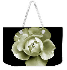 Weekender Tote Bag featuring the photograph Peony by Charles Harden