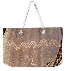 Petroglyph - Fremont Indian Weekender Tote Bag