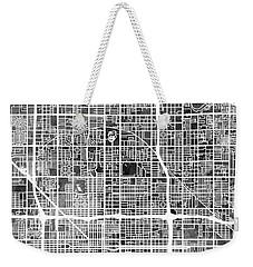 Phoenix Arizona City Map Weekender Tote Bag