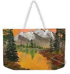 Pine Lake Weekender Tote Bag