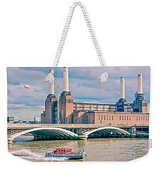 Pink Floyd's Pig At Battersea Weekender Tote Bag