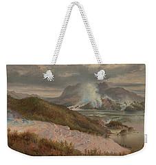 Pink Terraces Weekender Tote Bag