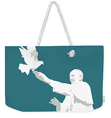 Pope Francis Weekender Tote Bag by Greg Joens