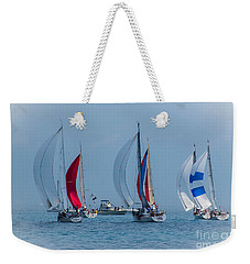 Port Huron To Mackinac Race 2015 Weekender Tote Bag