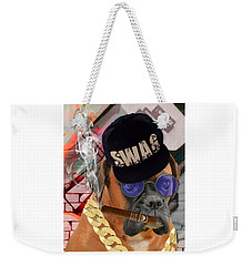 Weekender Tote Bag featuring the mixed media Power by Marvin Blaine