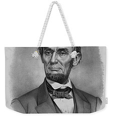 President Lincoln Weekender Tote Bag by War Is Hell Store