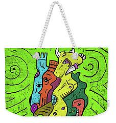 Psychedelic Animals Weekender Tote Bag