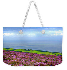 Purple Heather On Exmoor, Uk Weekender Tote Bag