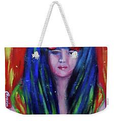 Rasta Girl Weekender Tote Bag