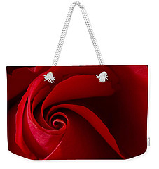 Red Rose Iv Weekender Tote Bag