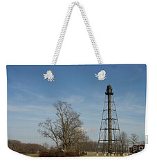Reedy Island Lighthouse Weekender Tote Bag