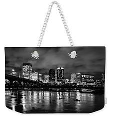 Richmond Skyline At Night Weekender Tote Bag