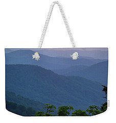 Roan Mountain Sunset Weekender Tote Bag by Serge Skiba