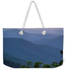 Roan Mountain Sunset Weekender Tote Bag