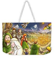 Robin Hood And Matilda Weekender Tote Bag