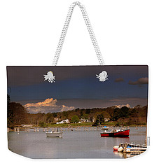 Empty Harbor Weekender Tote Bag