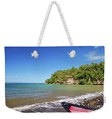 Weekender Tote Bag featuring the photograph Saint Lucia by Gary Wonning