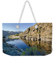 Salmon River Canyon Weekender Tote Bag