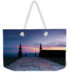 Weekender Tote Bag featuring the photograph Sanctuary by Edgar Laureano