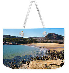 Sand Beach Acadia National Park Weekender Tote Bag