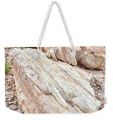 Weekender Tote Bag featuring the photograph Sandstone Slope In Valley Of Fire by Ray Mathis
