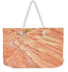 Weekender Tote Bag featuring the photograph Sandstone Swirls In Valley Of Fire by Ray Mathis