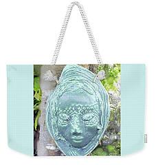 Weekender Tote Bag featuring the ceramic art Sarah by Sandy McIntire